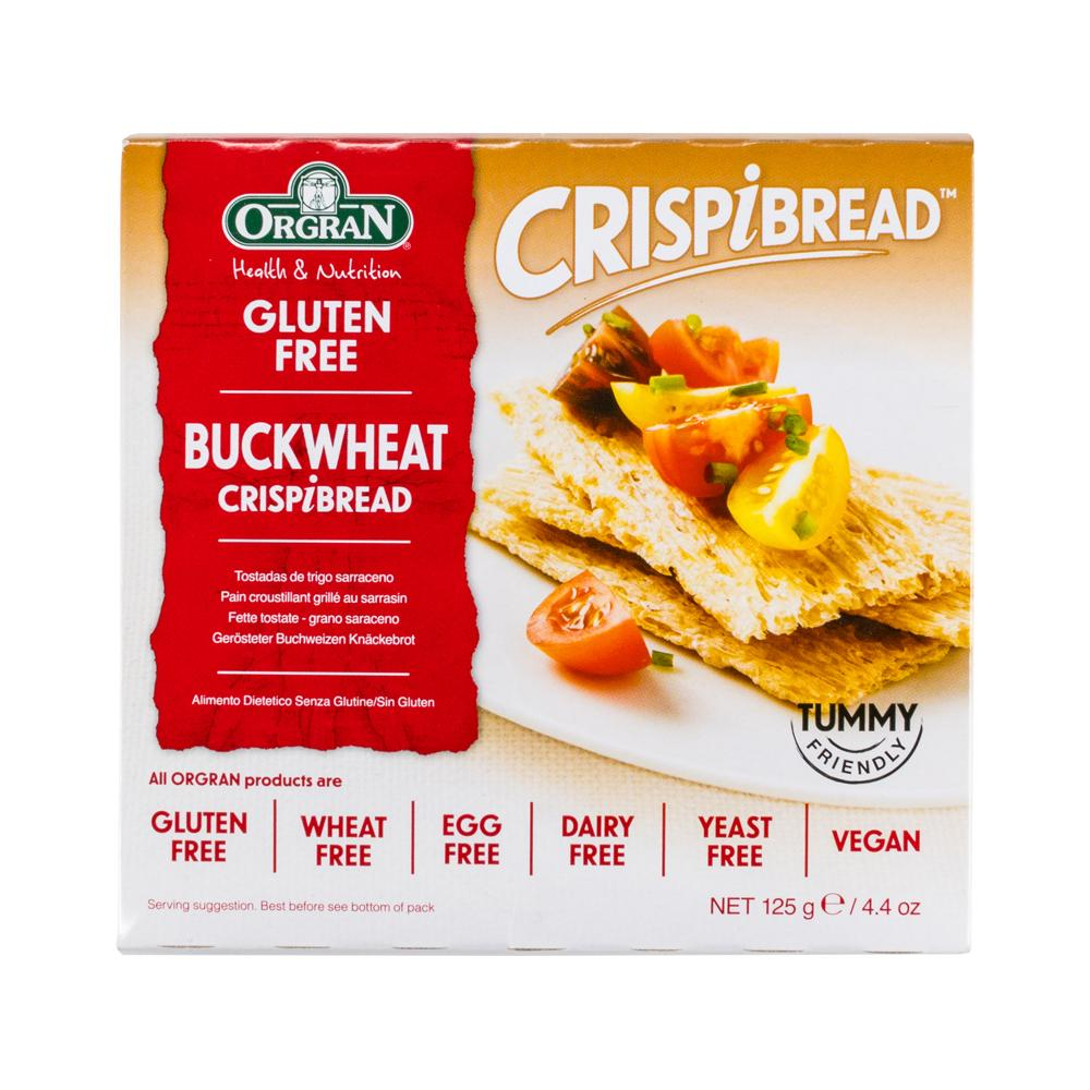 Toasted Buckwheat Crispbread