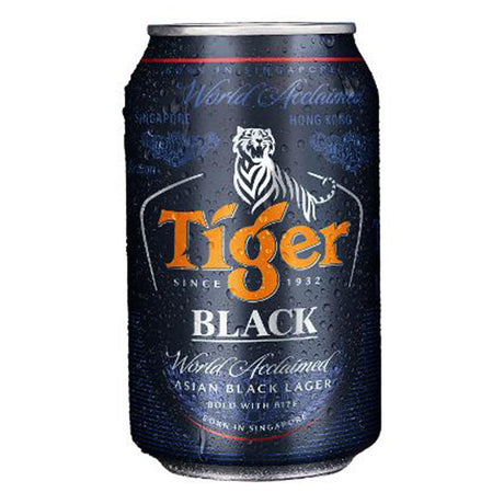 Tiger Beer Black Can (330ml)
