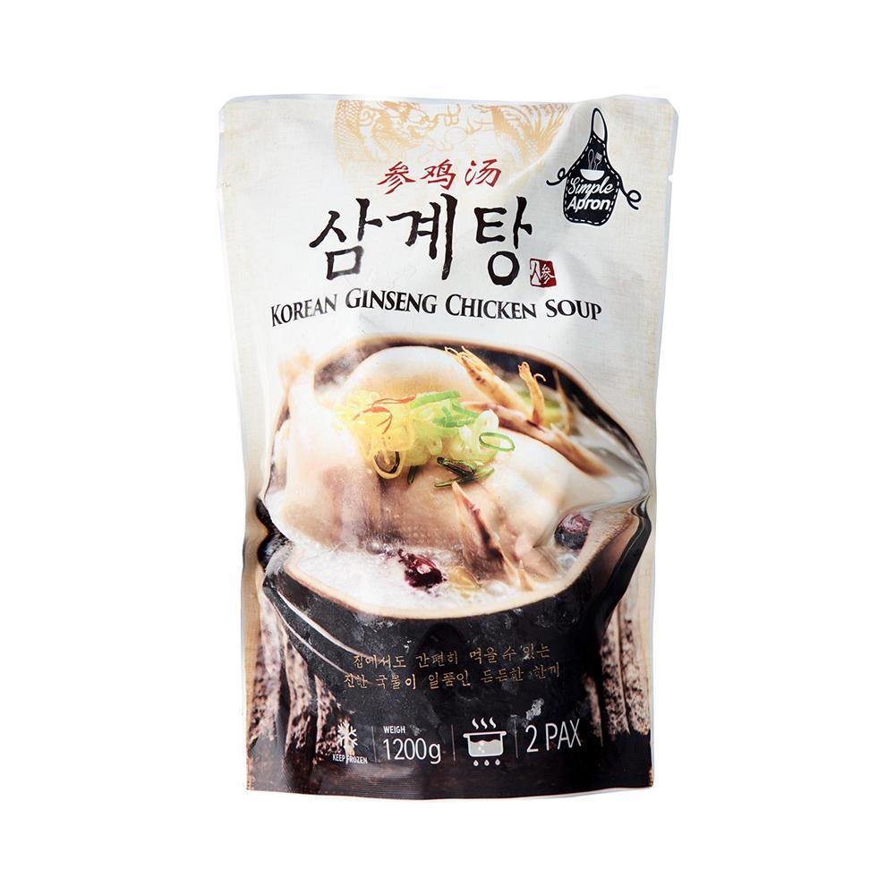 Simple Apron Korean Gingseng Soup (1200g)