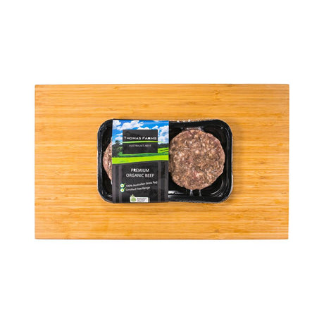 Thomas Farms Organic Beef Patties (2 pcs)