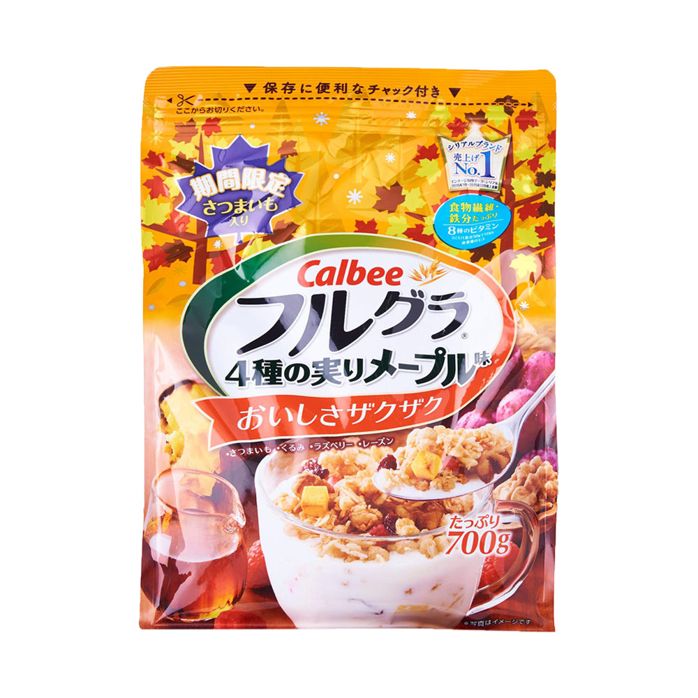 Calbee Fruits Granola Maple Flavor (700g) (2 For $30.20)