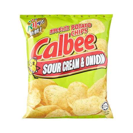 Calbee Potato Chips Sourcream & Onion (80g)