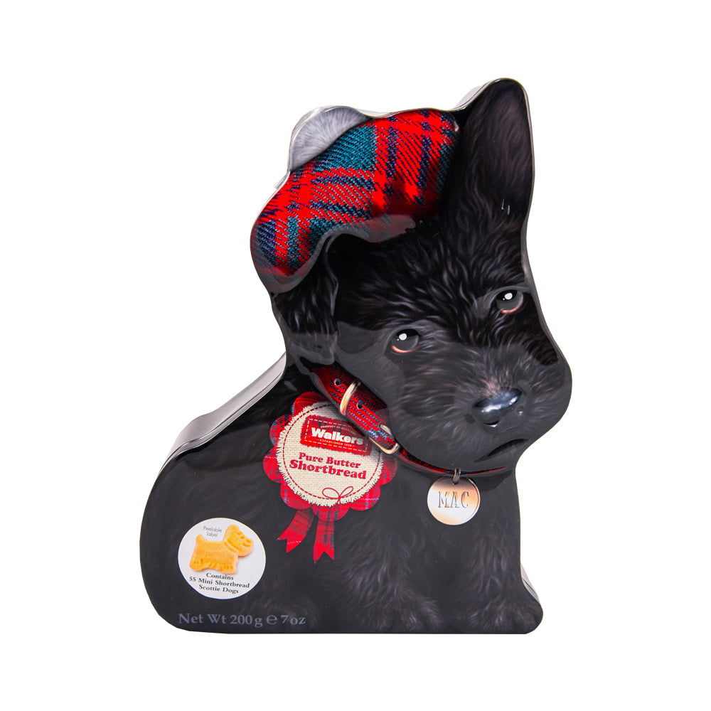 Walkers Shortbread Scottie Dog Mae Tin (200g)