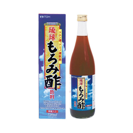 Itoh Japanese Vinegar Drink - Black Moromi (720ml) (2 For $37.50)
