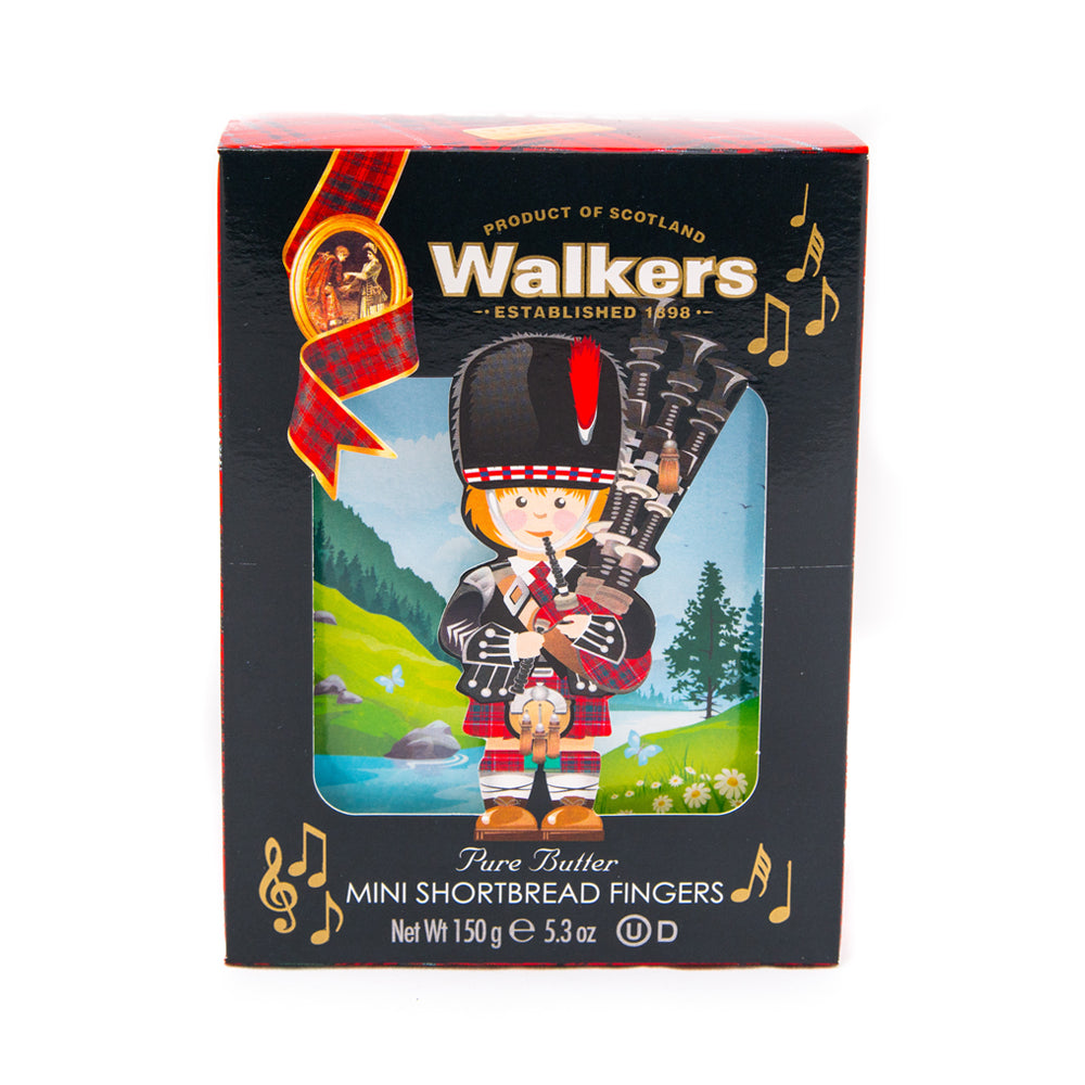 Walkers 3D Mini Shortbread Fingers Piper (150g)
