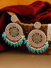 Turquoise Nandini Designer Earrings