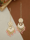 Rose Pink Sapna Chaandbali Earrings