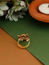 Golden Kartik Adjustable Ring