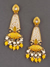 Lemon Mogra Dangler Earrings
