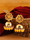 Mustard Archana Jhumki Earrings