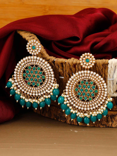 Jade Nandini Designer Earrings