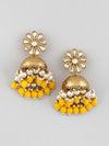 Lemon Akashita Jhumki Earrings