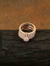 Rose Gold Zac Zirconia Ring