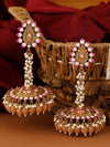 Brown Jacki Jhumki Earrings