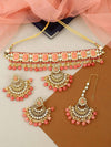 Coral Riya Necklace Set