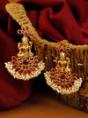 Ruby Padmini Gold Plated Pearl Earrings