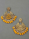 Mustard Aarav Chaandbali Earrings