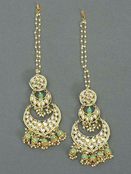 Mint Hetal Chaandbali Sahara Earrings