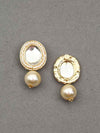 Golden Rakshitha Dangler Earrings