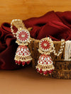 Ruby Naina Jhuumki Earrings