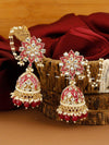 Ruby Tisha Jhumki Earrings
