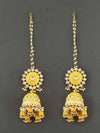 Lemon Aanandi Sahara Jhumki Earrings