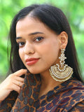 Emerald Jogan Jhumki Earrings