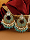 Turquoise Keladi Designer Earrings