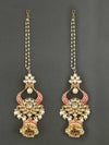 Ruby Nirvi Jhumki Earrings