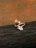 Rose Gold Imanii Zirconia Ring