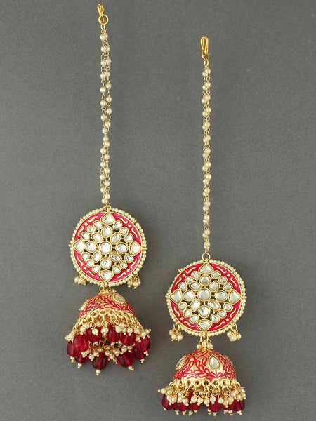Rani Kaaynat Jhumki Earrings