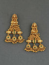 Emerald Aarna Gold Plated Ghungri Earrings