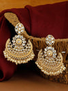 Golden Disha Chaandbali Earrings