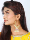 Ruby Seeta Jhumki Earrings