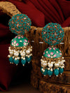 Jade Daliha Jhumki Earrings