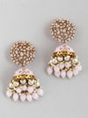 Lilac Daliha Jhumki Earrings