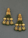 Emerald Aarna Pearl Earrings
