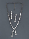 Antique Colorado Zirconia Necklace Set