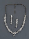 Antique Flos Zirconia Necklace Set