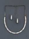 Antique Linea Zirconia Necklace Set