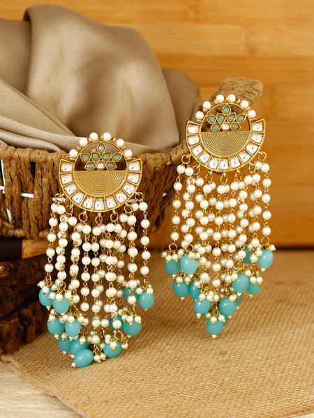 Aqua Heer Designer Earrings