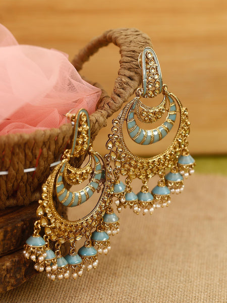 Aqua Boond Designer Earrings