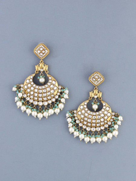 Aqua Sanaya Designer Earrings