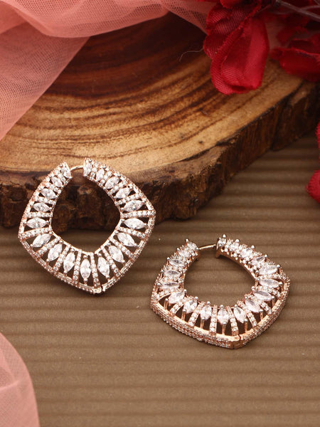 Ashley Zirconia Hoops