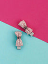 Baby Pink Bow Hair Pins
