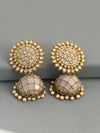 Crepe Suraj Jhumki Earrings