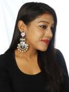 Black Pankaj Designer Earrings