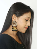 Black Tez Designer Earrings