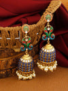 Navy Mayank Designer Earrings