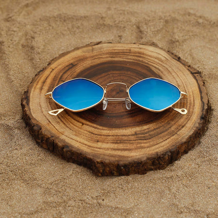 Royal Blue Aviator Sunglasses